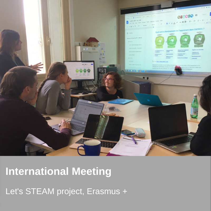 Projecte - Erasmus + Meeting