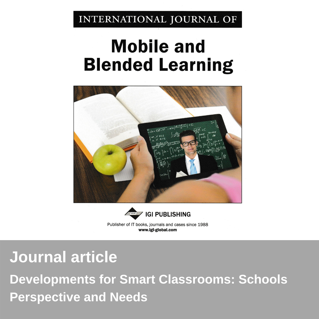 Nova publicació - International Journal of Mobile and Blended Learning