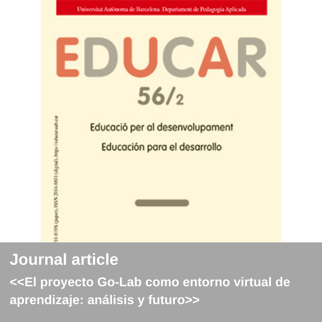 New publication – educar