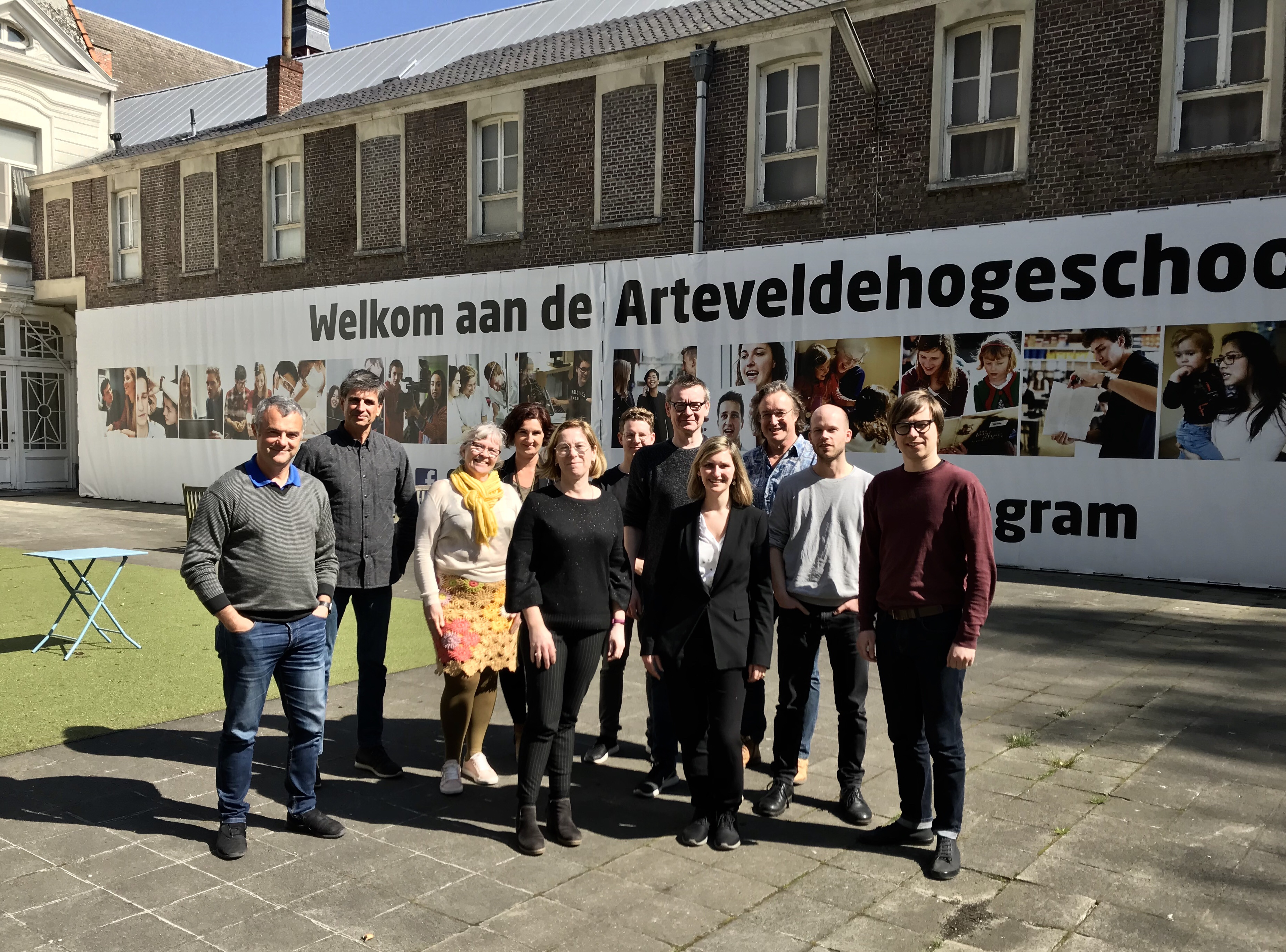 Erasmus + Knowledge Alliances 2019, Ghent (Belgic)