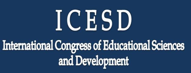 5th INTERNATIONAL CONGRESS of EDUCATIONAL SCIENCES and DEVELOPMENT