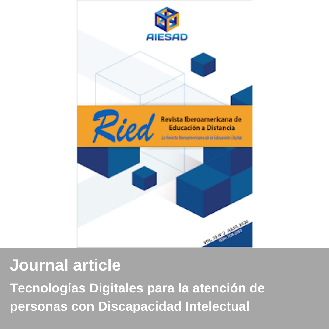New publication - RIED