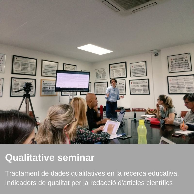 Seminar - Qualitative data processing in educational research. Quality indicators for scientific writing